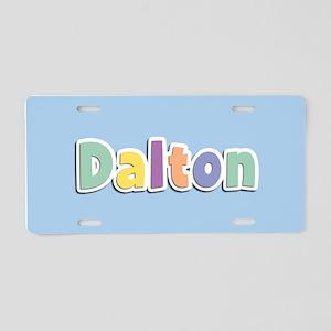 Dalton Spring14 Aluminum License Plate