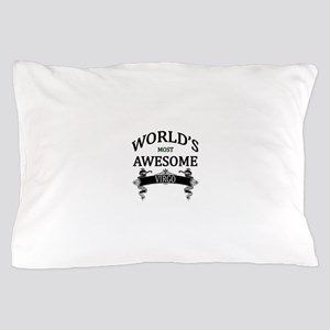 World's Most Awesome Virgo Pillow Case