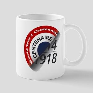 World War I Centennial Mug