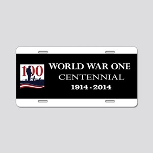 World War I Centennial Aluminum License Plate