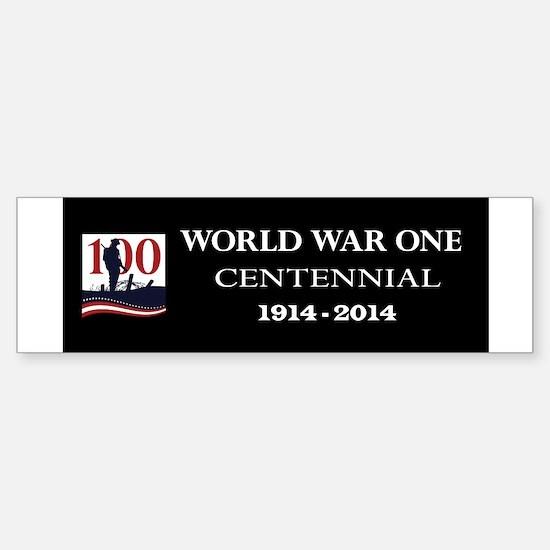 World War I Centennial Sticker (Bumper)