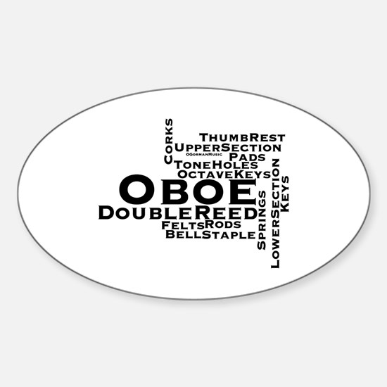 Oboe Stickers