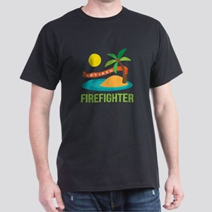 Retired Firefighter Dark T-Shirt