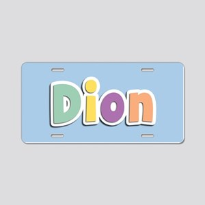 Dion Spring14 Aluminum License Plate