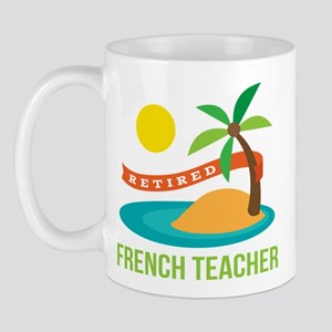 Retired French teacher Mug