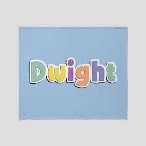 Dwight Spring14 Throw Blanket