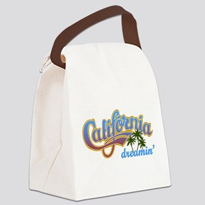 CALIFORNIA DREAMIN Canvas Lunch Bag