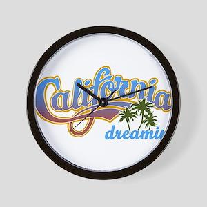 CALIFORNIA DREAMIN Wall Clock