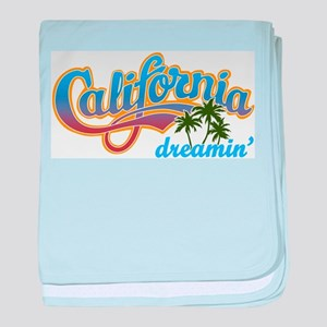 CALIFORNIA DREAMIN baby blanket