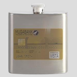 Golden credit Flask