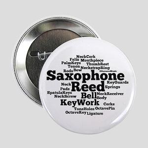 "Saxophone 2.25"" Button"
