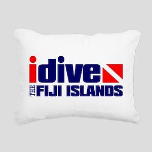 idive (Fiji) Rectangular Canvas Pillow