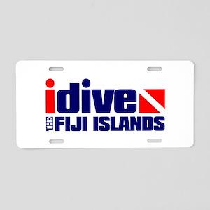 idive (Fiji) Aluminum License Plate