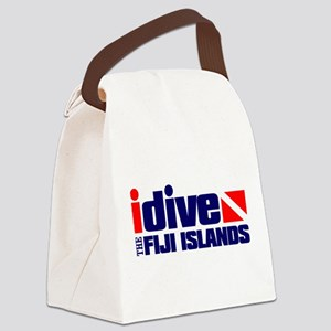 idive (Fiji) Canvas Lunch Bag