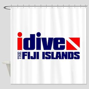 idive (Fiji) Shower Curtain