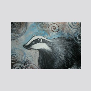 Spiral badger Magnets