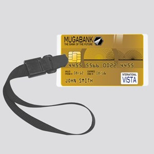 Golden Credit Large Luggage Tag