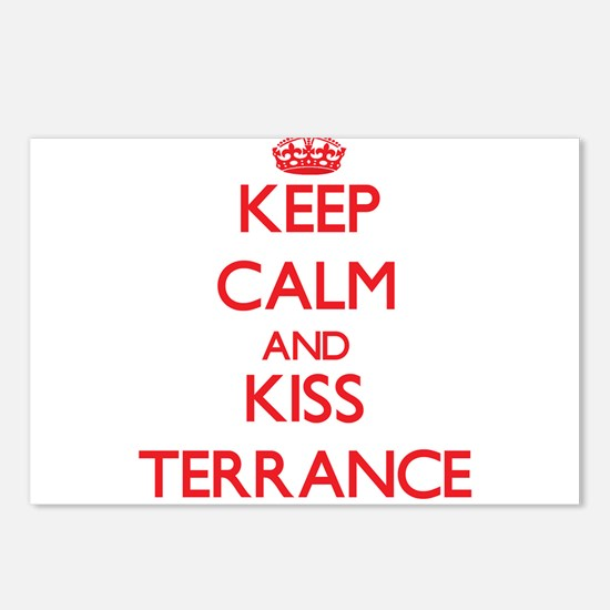 Keep Calm and Kiss Terrance Postcards (Package of