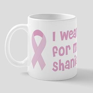 Wear pink for Shania Mug