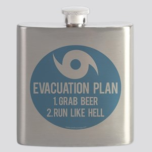 Hurricane Evacuation Plan Flask