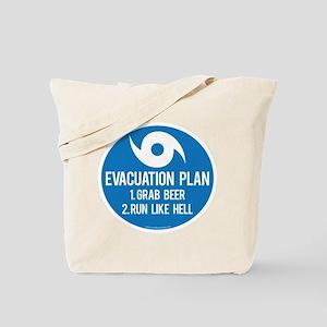 Hurricane Evacuation Plan Tote Bag