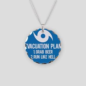 Hurricane Evacuation Plan Necklace
