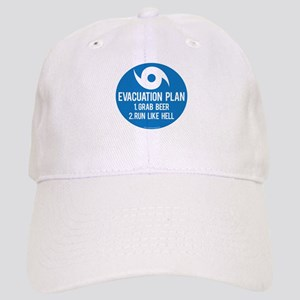 Hurricane Evacuation Plan Baseball Cap