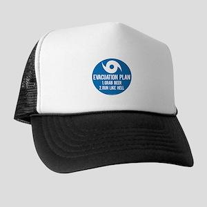 Hurricane Evacuation Plan Trucker Hat