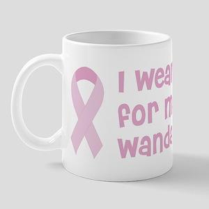 Wear pink for Wanda Mug