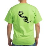 SNAKE On The Grass - Green T!