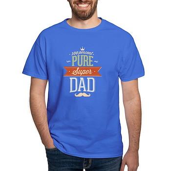 100 Percent Pure Super Dad Dark T-Shirt