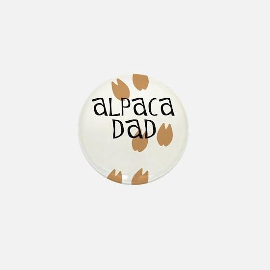 Alpaca Dad Mini Button