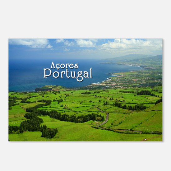 Azores - Portugal Postcards (Package of 8)