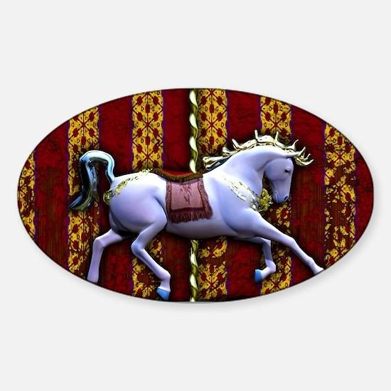 Carousel Horse Decal