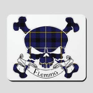 Fleming Tartan Skull Mousepad