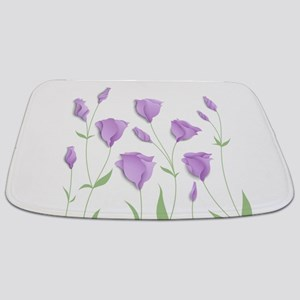 Lilac Flowers Bathmat