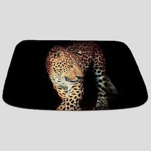 Leopard Portrait Bathmat
