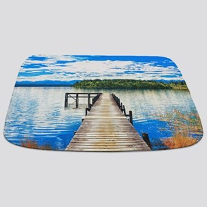 Beautiful Lake Bathmat