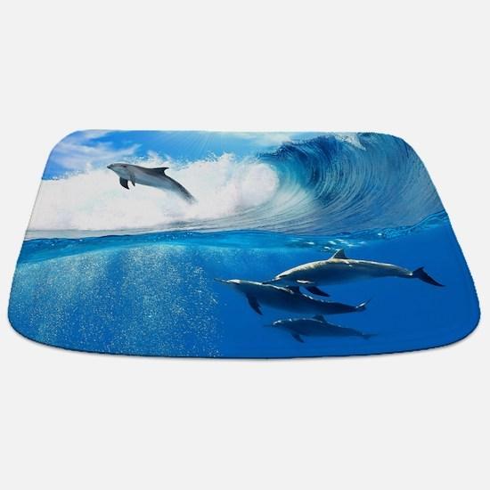 Beautiful Dolphins Bathmat