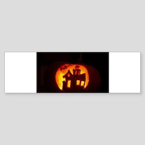 Pumpkin Glow Bumper Sticker