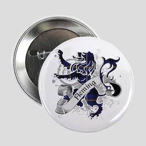 "Fleming Tartan Lion 2.25"" Button"