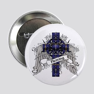 """Fleming Tartan Cross 2.25"""" Button"""