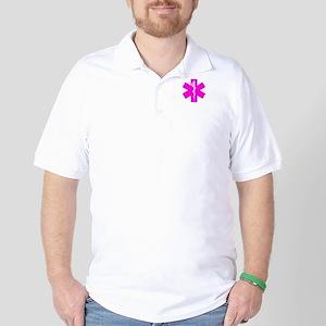 Hot Pink Paramedic Golf Shirt
