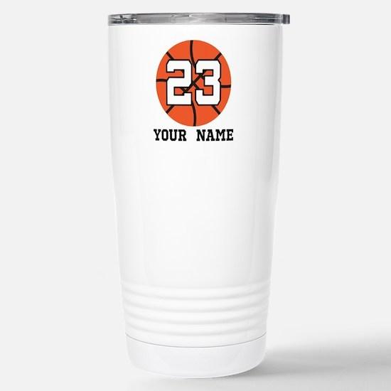 Basketball Player 23 Customized Travel Mug