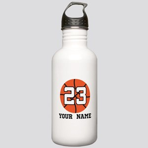 Basketball Player 23 Customized Water Bottle