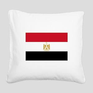 Egypt Square Canvas Pillow
