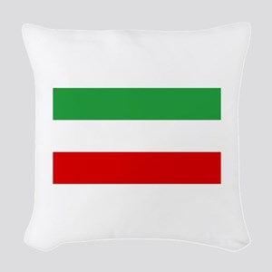Iran Woven Throw Pillow