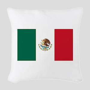 Mexico Woven Throw Pillow