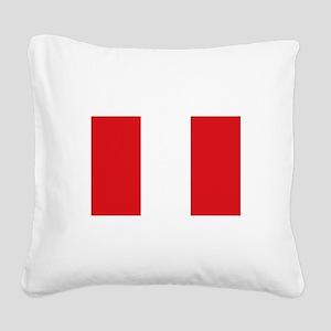 Peru Square Canvas Pillow