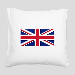 United Kingdom Square Canvas Pillow